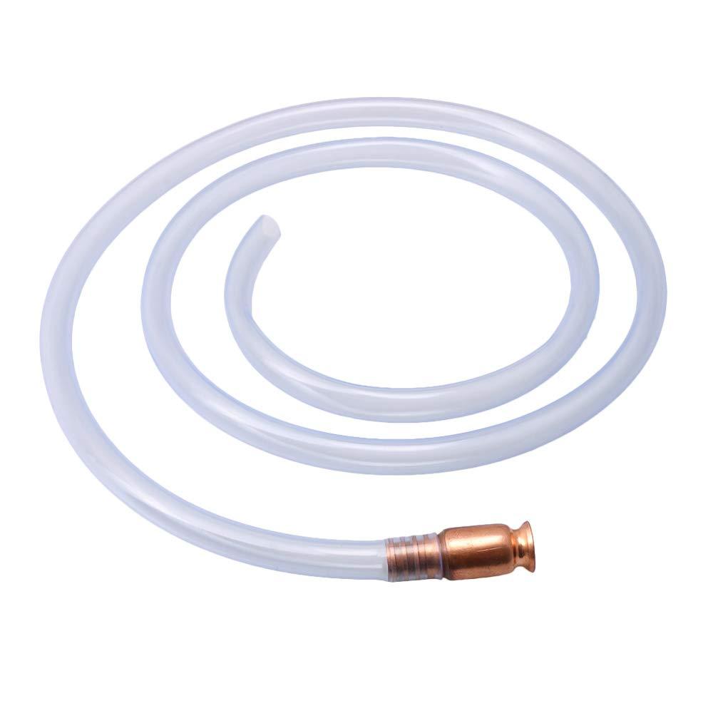 Yibuy 1.86m Shaker Siphon Hose for Gasoline Gas Fuel Transfer Self Priming