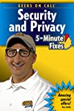 Geeks on Call Security and Privacy, J. R. King and Geeks On Call® Staff, 0471774553
