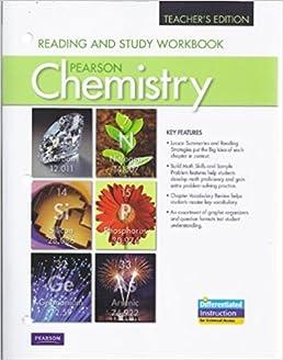 reading and study workbook for chemistry teacher s edition pearson rh amazon com Chemistry Workbook Answer Key Pearson Chemistry Workbook Answers 2012