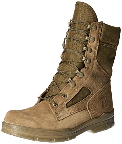 Bates Men's USMC Lightweight DuraShocks Military & Tactical Boot, Olive Mojave, 9.5 M US
