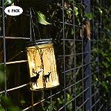 magnificent formal garden design Hanging Mason Jar Lights led light bulbs led bulb smart bulb 4 Pack 10 Leds Waterproof Starry String Fairy Lights Elk Laterns Table Lights for Outdoor Patio Party Garden Wedding Christmas Decor Lights