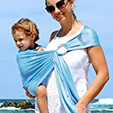Kidlove Multi-function Baby Ring Sling Carrier Hollow Out Pouch Wrap Newborn To Toddler 5 Position