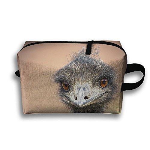 Emu Animal Natural Scenery Travel / Home Use Storage Bag, Clothing Storage Space, Moisture Proof Carrying Bags, Organizers Pack Set by JIEOTMYQ
