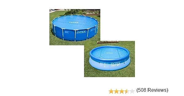 Intex 29020 - Cobertor solar para piscinas 244 cm de diámetro ...