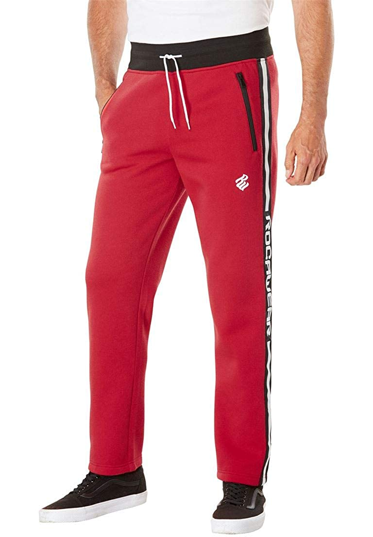 Rocawear Men's Big & Tall Monarchy Fleece Pants