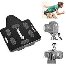 Fomito Arca-Type Quick Release Plate Connecting Camera Wrist Belt Strap, Compatible for Camera Dolly / Crane / Stabilizer / Tripod / Monopod