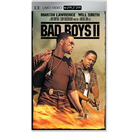 Amazon Com Bad Boys 2 Umd For Psp Martin Lawrence Will Smith Gabrielle Union Peter Stormare Theresa Randle Joe Pantoliano Michael Bay Jerry Bruckheimer Columbia Pictures Movies Tv