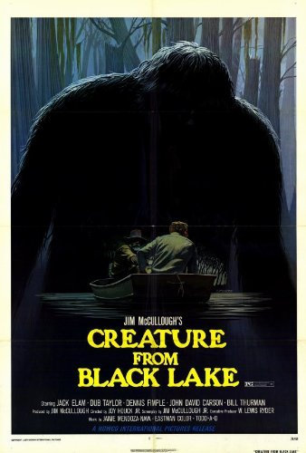 Lake Movie Poster - Creature From Black Lake POSTER Movie (27 x 40 Inches - 69cm x 102cm) (1976)