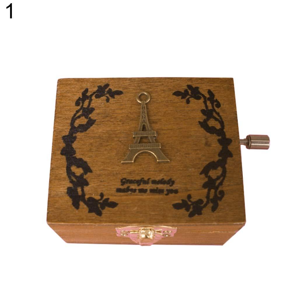 想像を超えての Dds5391 ノベルティ ミニ ビンテージ ハンドクランク ミニ 木製オルゴール 誕生日 ノベルティ クリスマスデコレーション - Dds5391 1# B07KC4SQN1 1#, Grand Galleria:4d3389df --- arcego.dominiotemporario.com