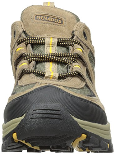 huge surprise cheap price buy cheap deals Nevados Men's Boomerang II Low Hiking Shoe Brown/Black/Yellow free shipping explore professional cheap online Ibyo9dw7t