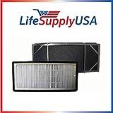 5-Pack Replacement fitler for Honeywell HHT-011 Air Purifier Filter Kit also Fits 16200 16216 Desktop Air Purifier Part # HRF-B2C (HRFB2C), 3811-350, 16216, 30LB1620XB2, HRF-C1; By Vacuum Savings