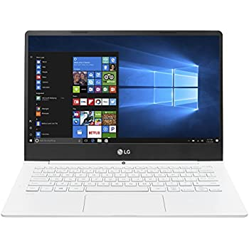 "LG gram Thin and Light Laptop - 13.3"" Full HD IPS Display, Intel Core i5 (7th Gen), 8GB RAM, 256GB SSD, 2.1lbs, Back-lit Keyboard, White - 13Z970"