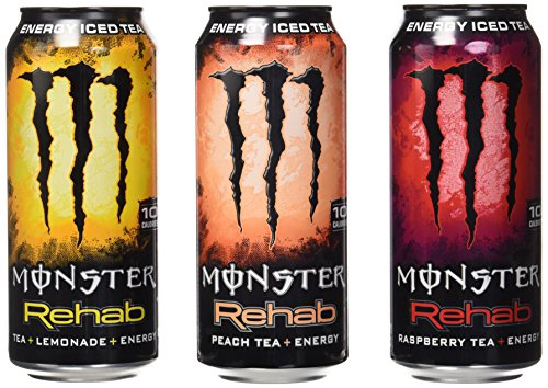 Monster Energy Rehab Variety Pack (15.5 oz. cans, 24 ct.) (Monster Energy Cans)