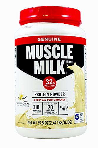 Cytosport Muscle Milk Genuine Vanilla Creme - Cytosport Muscle Milk Powder Vanilla Creme