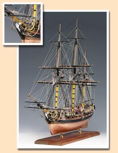 - Amati Victory HMS Pegasus Wooden Ship Model Kit