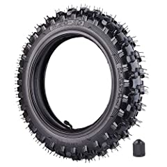 """2.50x10"""" Knobby Tyre 2.5-10 Front or Rear Tire with TR87 Inner Tube for Off Road Motorcycle Motocross Mini Dirt Bike XR50 CRF50 PW50 SDG107 KTM 50SX Morini Razor SX500 Fits Yamaha PW50 JR50 /DRZ70 KTM 50 87-0110 The maximum inflation pressure..."""