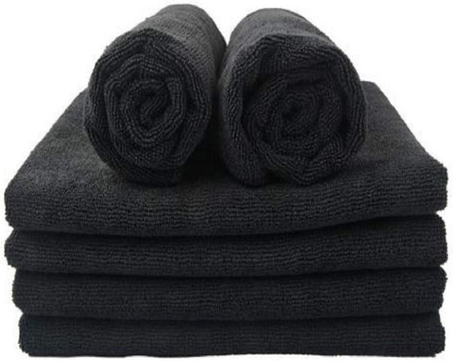 Toalla PELUQUERIA Medida: 50x100 cm SEDALINNE Color Negro Acabado Indanthren