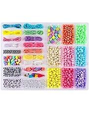 freneci 5pcs DIY Perles Fermoirs Magn/étiques pour Boucle Bracelet Collier Argent