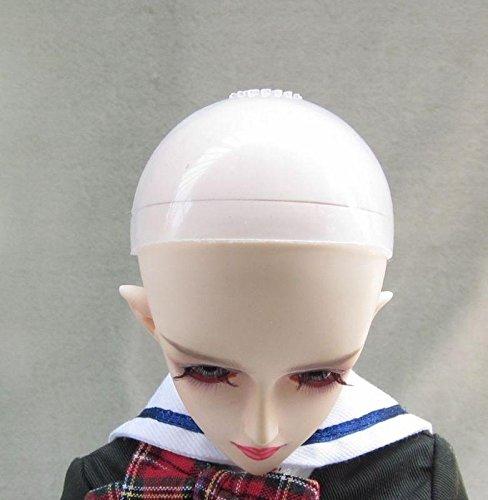 BJD Head Silicone Wig Cap 1/3 1/4 1/6 SD MSD YOSD Dollfie Doll Head Protection Cover