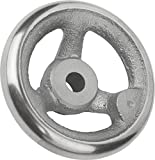 Tilt Handwheel without Nut Cast Iron No Handles, Mini, D2= 26Steel D1= 250–Retail Packaging–k0671.0250x26