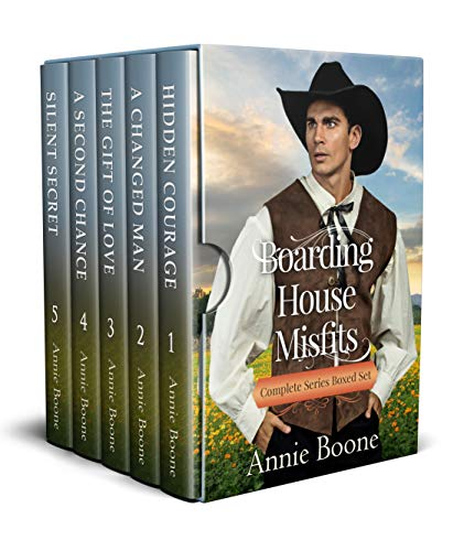 Boarding House Misfits: Complete Series Boxed Set by [Boone, Annie]
