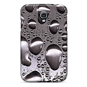 Ultra Slim Fit Hard SKTrahan Case Cover Specially Made For Galaxy S4- Wetstainlesssteel