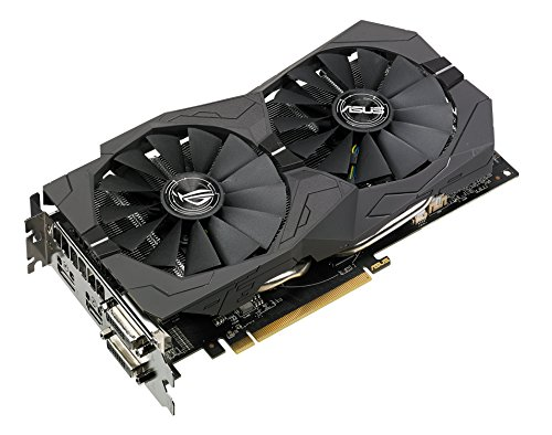 ASUS ROG Strix Radeon RX 570 O4G Gaming OC Edition GDDR5 DP HDMI DVI VR Ready AMD Graphics Card (ROG-STRIX-RX570-O4G-GAMING) by Asus (Image #2)