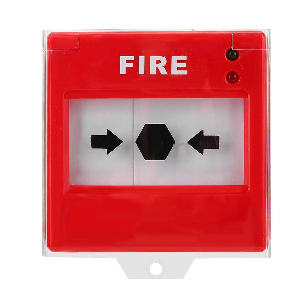 Bot/ón de Alarma de Incendio Liberaci/ón R/ápida Push Interruptor de Bot/ón Bot/ón de Alarma para Seguridad del Hogar,oficina,hotel Bot/ón de Emergencia