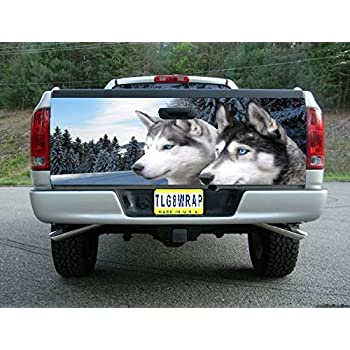 Amazoncom T WOLF TAILGATE WRAP Vinyl Graphic Decal Sticker - F250 decals