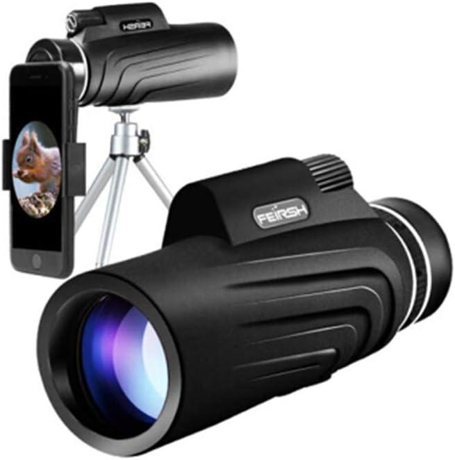 GXYAS telescopio de cámara fotográfica monocular Ajustable telescopio Adecuado para la Caza de pájaros montañeros Viendo la Vida Silvestre y Paisaje visión Nocturna Shimmer