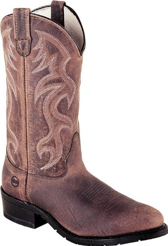 (Double H 2282 12 Inch AG7 Steel Toe Work Western Boot)