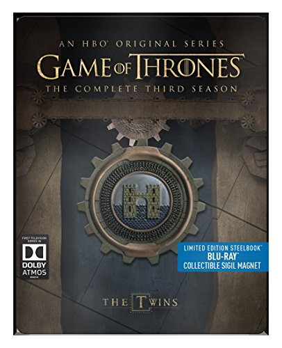 - Game of Thrones - Season 3  (Limited Edition Steelbook) [Blu-ray] [Region Free]