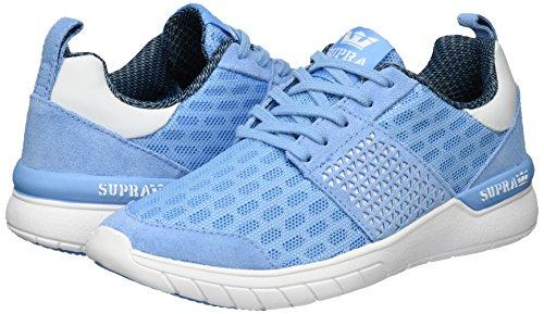 white Azul blue Supra Scissor Mujer Zapatillas Para wnxA7qWBZ
