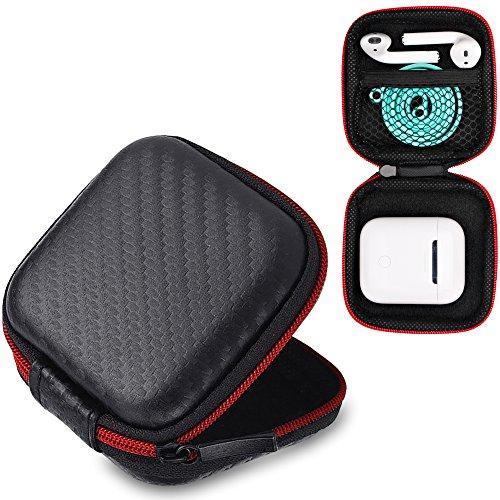AirPods Case, 6amLifestyle Premium Zipper Hard Shell Carrying Case with Mesh Mini Pocket, Perfect for Spigen TEKA RA200 RA100