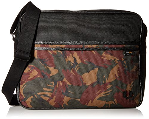 Bag Fred Black Men's Bag Fred Nylon Shoulder Shoulder Nylon Perry Perry Men's Multicoloured CUqgXvw