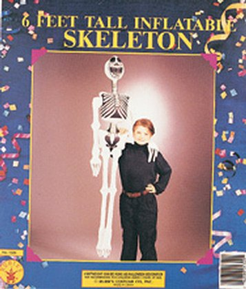 Rubie's Costume 72'' Inflatable Skeleton Halloween Decor 6 Feet Tall 6 by Rubie's Costume