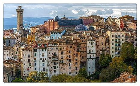 Amazon.com: España casas Old Castilla Cuenca ciudades ...