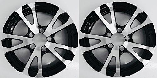 - eCustomRim Two Aluminum Trailer Rims Wheels 5 Lug 15