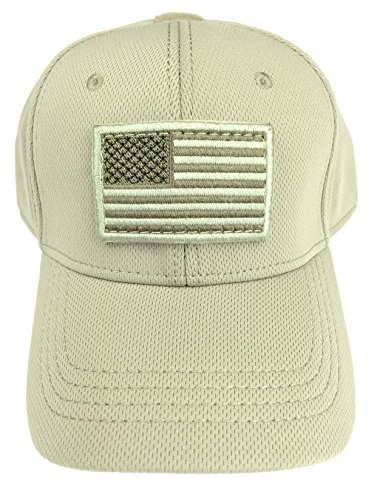 Condor Flex Tactical Cap (Tan) + FREE Stitched Velcro Flag