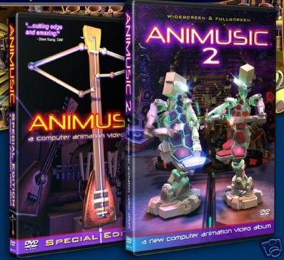 Animusic 1 & 2 - Computer animation video albums (both DVDs) (Animusic 2 Dvd)