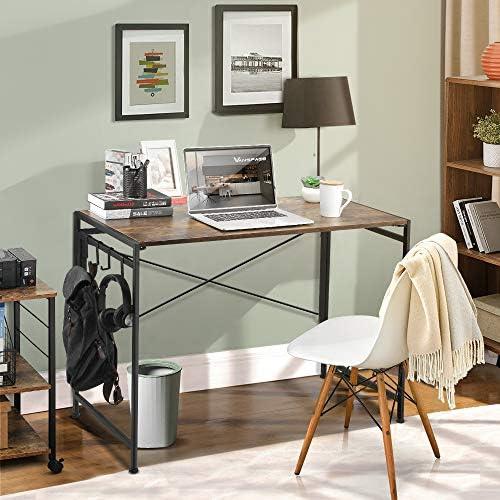 VANSPACE 39.4 Folding Computer Desk Simple Study Desk