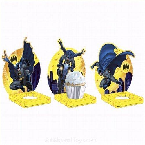Batman 'Dark Knight' Cupcake Holders (6pc)
