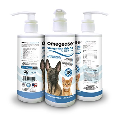 Omegease Omega 3, 6 & 9 Fish Oil for Dogs and Cats, 16 oz