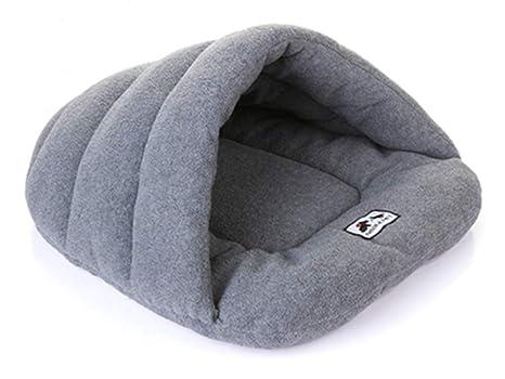 Egurs Pets Sleep Zone Cuddle Cave Cama para Mascotas para Perros Gato Conejo Mediana y pequeña