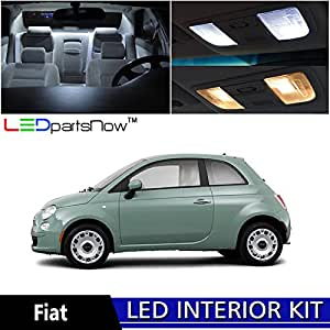 ledpartsnow 2012 2017 fiat 500 led interior lights accessories replacement package. Black Bedroom Furniture Sets. Home Design Ideas