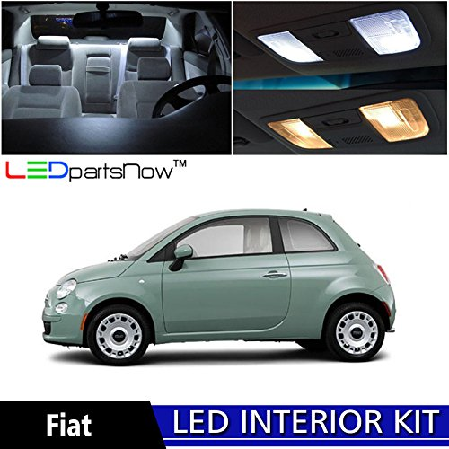ledpartsnow-fiat-500-2012-2017-xenon-white-premium-led-interior-lights-package-kit-3-pieces