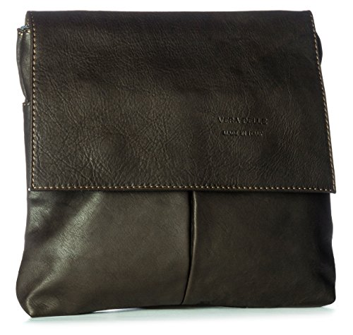 Bolso al One Big de cuero para Handbag Café hombro Shop hombre qPxFEtw