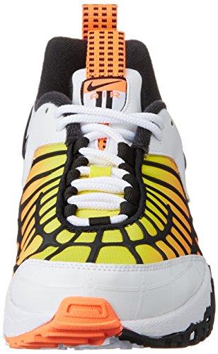 Nike Hybrid - Cazadora para hombre White/Black/Hypr Orng/Opt Yllw