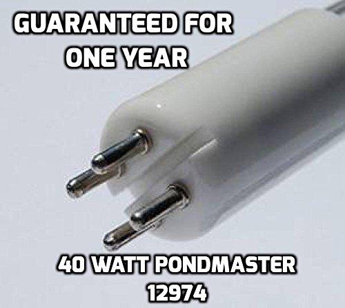 Pro Lights Danner PondMaster 12974, 02940, 40W Clarifier Supreme OEM Quality Premium Compatible Replacement UV 40 Watt UV Bulb (Compatible Uv Lamp)