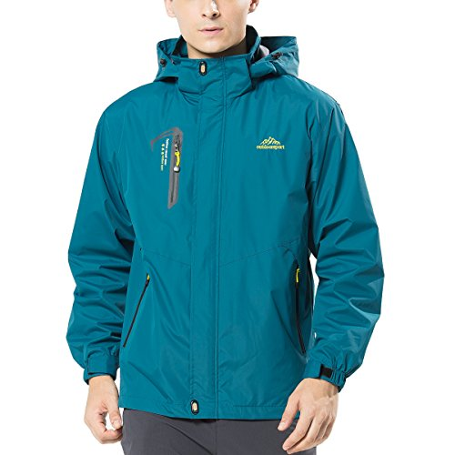 waterproof hooded jacket - 7